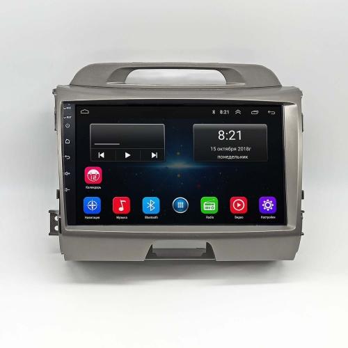 Штатная магнитола Kia Sportage 2010+ NewStar Android 8 16/1gb