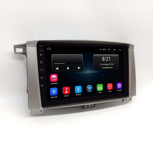 Автомагнитола Toyota Land Cruiser 100 NaviFly - android 8 16/1gb