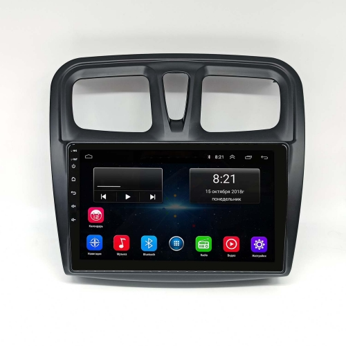 Штатная магнитола Renault Logan 2, Sandero NewStar Android 8 16/1gb