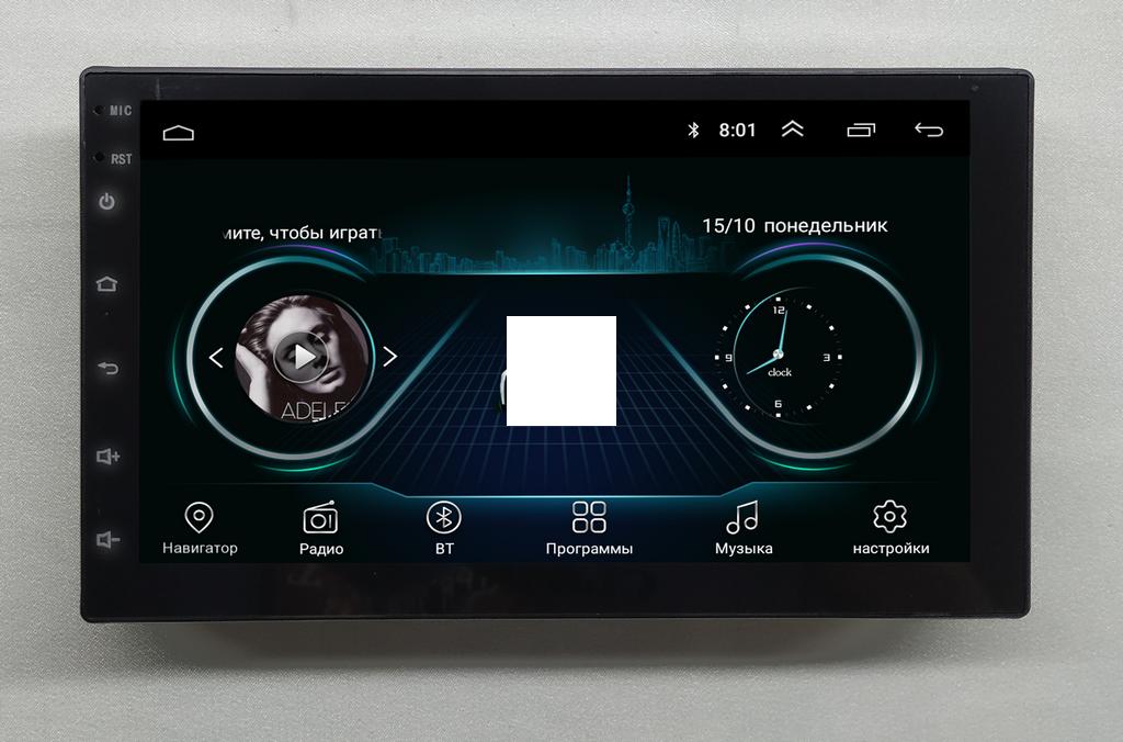 Магнитола NaviFly Nissan Note Android 8.1 Go