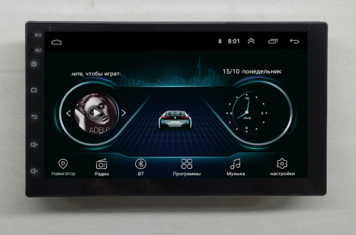 Магнитола NaviFly Nissan xtrail Android 8.1 Go