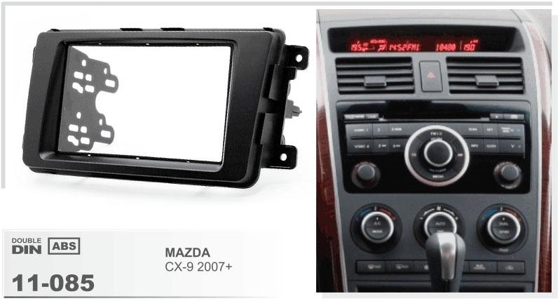 Переходная рамка для Mazda CX-9 2009+ 2din
