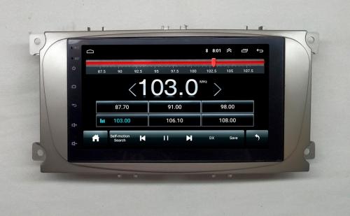 Штатная магнитола Ford Focus 2 NaviFly Android 8 16/1Gb