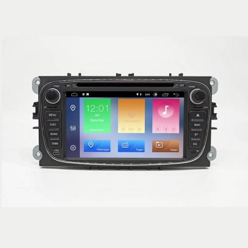 Автомагнитола NaviFly ford focus 2, mondeo, c-max, s-max, galaxy, fiesta черная Android 10