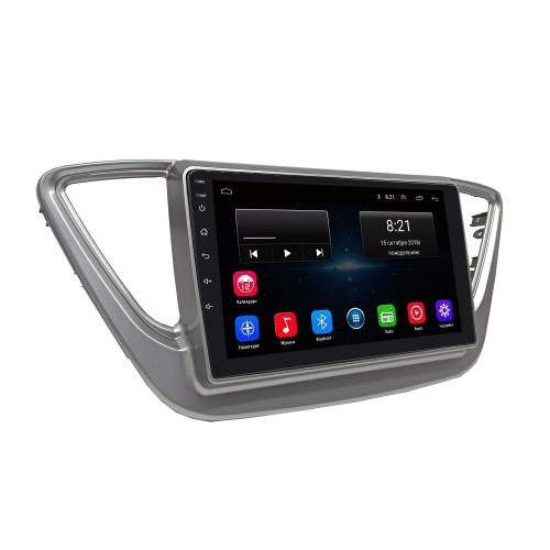Штатная магнитола Hyundai Solaris 2017+ NaviFly Android
