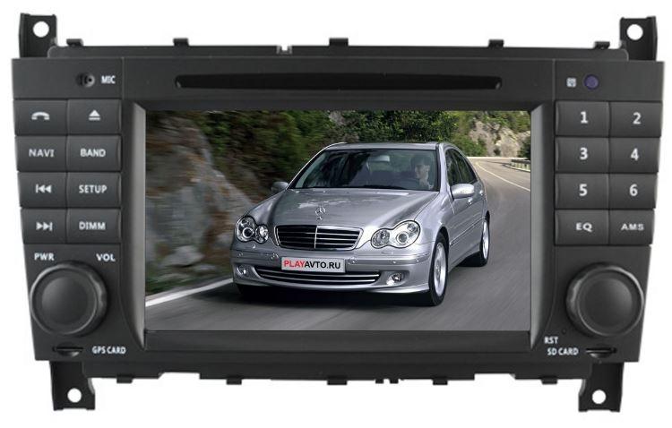 Автомагнитола NaviFly Mercedes Benz C-Class W203 (2004-2007) CLC (2008-2010)