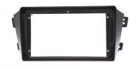 Переходная рамка для Toyota Corolla, Axio, Fielder 2006- 2Din черная