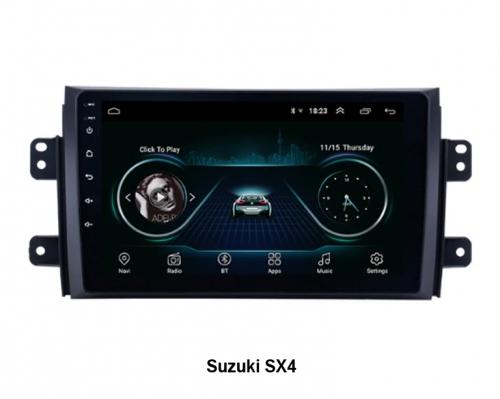 Штатная магнитола Suzuki SX4 NaviFly Android 6
