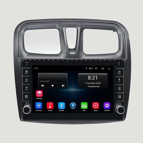 Штатная магнитола Renault Logan 2, Sandero NewStar Android с кнопками