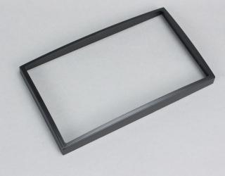 Переходная рамка Chery Tiggo 2-din черная