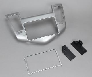 Переходная рамка Chevrolet Cruze 2009+ 2Din серебро