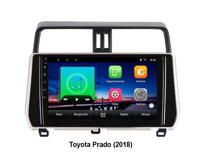 Штатная магнитола Toyota Prado 150 2018+ NewStar