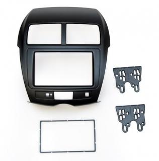 Переходная рамка для Mitsubishi ASX 2012+ 2din