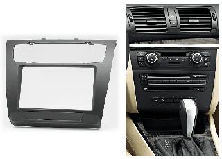 Переходная рамка для BMW 1-Series (E81, E82, E87, E88) 2007-2011 (с климат-контролем) 2din