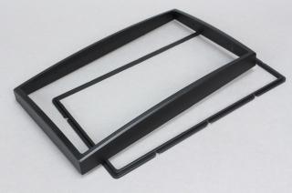 Переходная рамка для Chery Tiggo 2-din черная