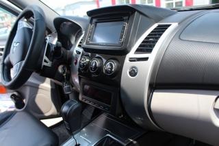 Переходная рамка Mitsubishi Pajero Sport 2009 перенос бортового компьютера вниз