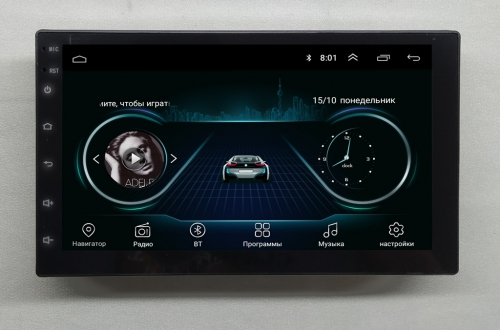 Магнитола NaviFly Nissan Patrol Android 8.1 Go