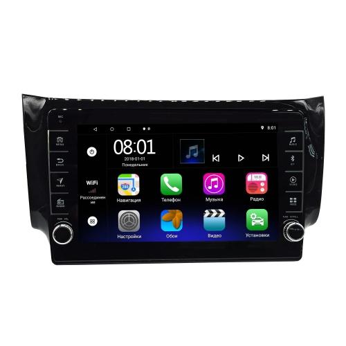 Автомагнитола Nissan Sentra, Tiida, Bluebird Sylphy 2014+ NaviFly Android 8 16/1gb с кнопками