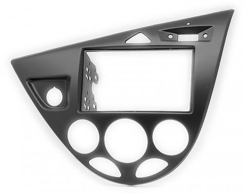 Переходная рамка Ford Focus 1 2din черная
