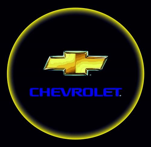Проектор с логотипом Chevrolet