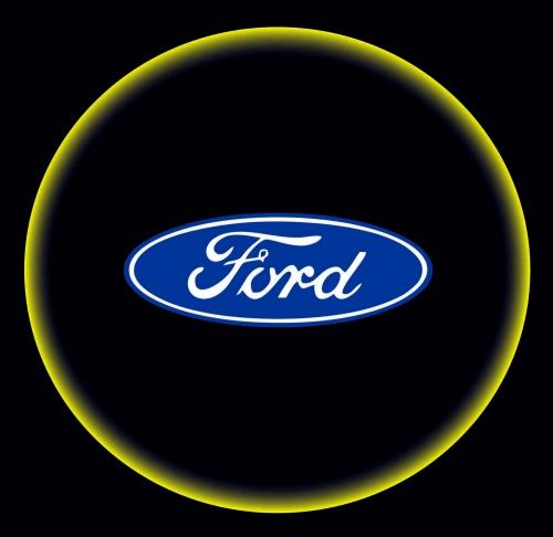 Проектор с логотипом Ford