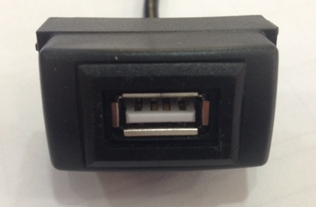 USB разъем в штатную заглушку для Lifan X60