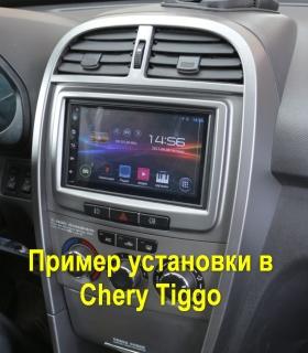 Автомагнитола Chery Tiggo 2din 7 дюймов MTK Android 4.4.4 с GPS