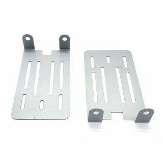 Комплект креплений для установки магнитолы 2 Din Рено (Renault), Lada Xray