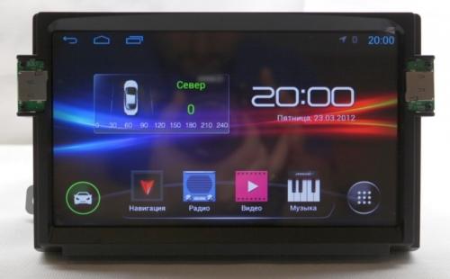 Штатная магнитола Foton Sauvana Android 4.4.4 NaviFly
