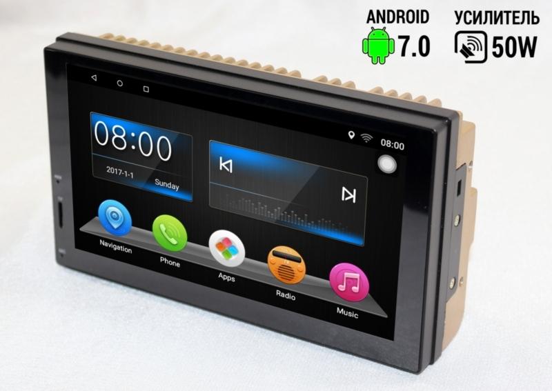 Штатная магнитола Chery Tiggo 2din 7 дюймов Android 7 с GPS