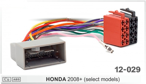 ISO переходник Honda 2008+