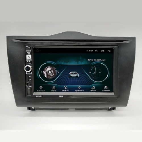 Штатная магнитола Lada Granta FL NaviFly Android 8 16/1Gb