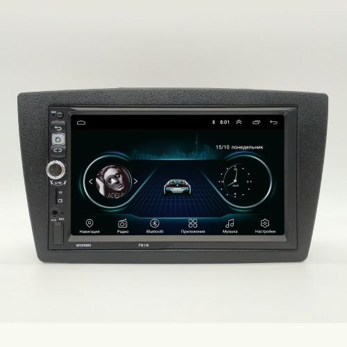 Штатная магнитола Lada Granta, Kalina NaviFly Android 8 16/1Gb