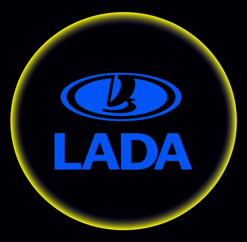 Проектор с логотипом Lada
