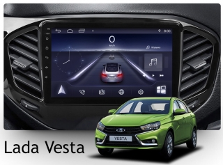 Штатная магнитола Lada Vesta NewStar Android 8 4G