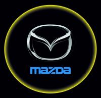 Проектор с логотипом Mazda