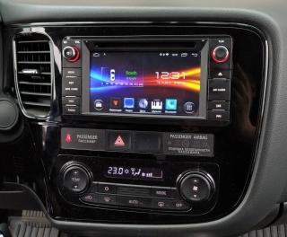 Штатная магнитола Mitsubishi Outlander, Pajero sport 2013+ NaviFly Android 9 16/2Gb