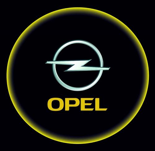 Проектор с логотипом Opel