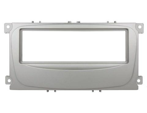 Переходная рамка для Ford Mondeo 2007+, C-Max 1 Din серебро