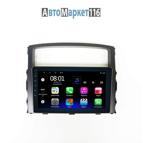 Штатная магнитола Mitsubishi Pajero 4 Android 16/1gb