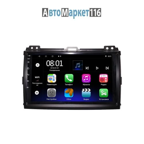 Штатная магнитола Toyota Prado 120 2002-2009 Android 8 16/1gb