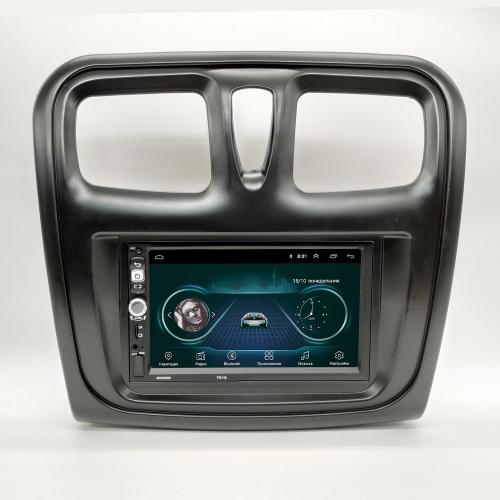 Штатная магнитола Renault Logan 2 NaviFly Android 8 16/1Gb