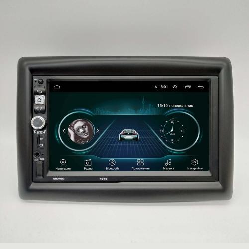 Штатная магнитола Renault Megan 2 NaviFly Android 8 16/1Gb