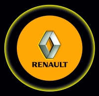Проектор с логотипом Renault