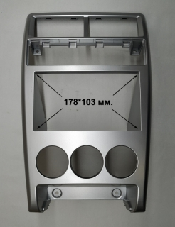 Переходная рамка Лада приора 2014+ 2din (178x103мм.)