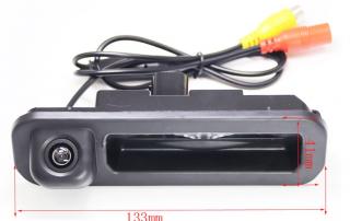 Камера заднего вида в Ford Mondeo, Focus, Fiesta в ручку (136 гр:0.1 lux)