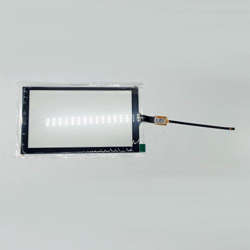 Тачскрин емкостной для автомагнитолы 7 дюймов (с сенсорными кнопками)