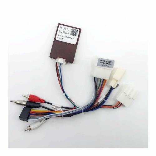 Кабель для планшетной магнитолы Toyota Prado 100, 120, 150 (2012-) CAN-BUS