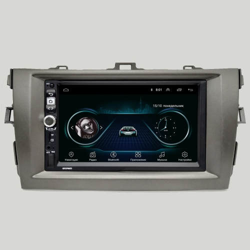 Штатная магнитола Toyota Corolla 2012- NaviFly Android 8 16/1Gb