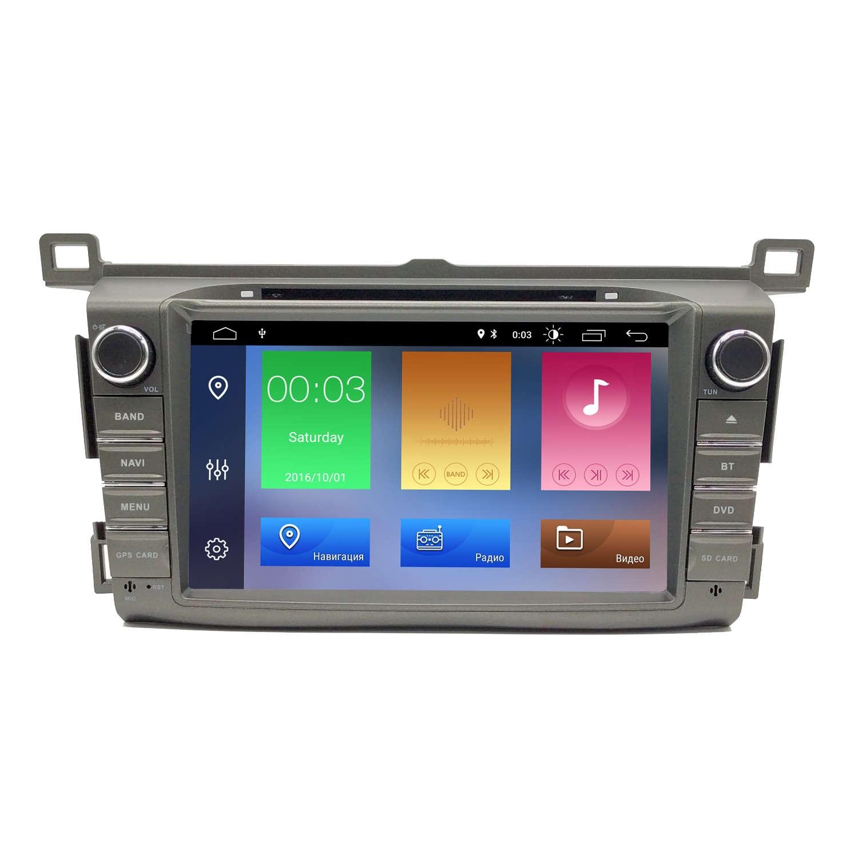 Штатная магнитола Toyota Rav 4 2013+ NaviFly Android 9 16/2gb DSP